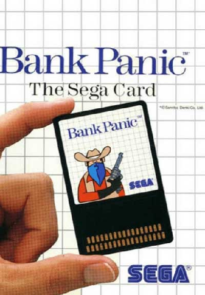 Bank Panic (Sega Card)