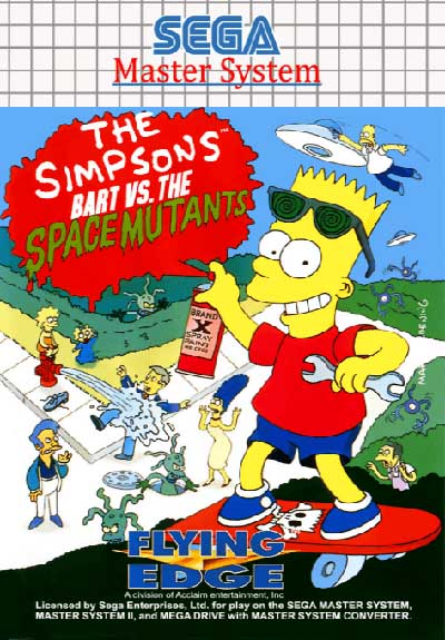 Bart vs the Space Mutants